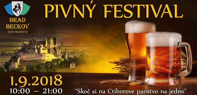 Pivný festival na hrade Beckov